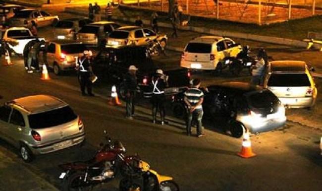 Mais de 20 prisões por embriaguez ao volante