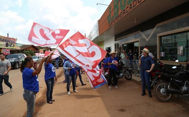 Jaqueline Cassol aumenta ritmo de campanha rumo ao governo de Rondônia