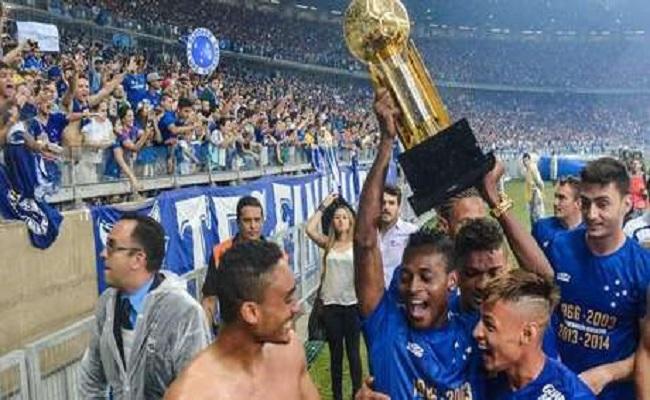 Com 4º título, Cruzeiro se firma como opção longe do eixo