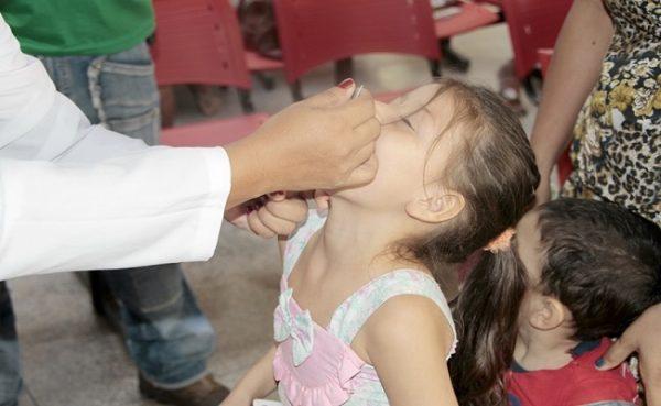 Campanha contra Poliomielite e Sarampo continua até dia 31 em Porto Velho