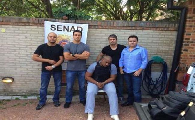 Chefão do tráfico de drogas do RJ é preso no Paraguai