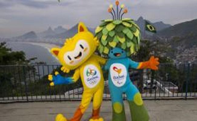 Mascotes dos Jogos Rio 2016 recebem os nomes de Vinícius e Tom