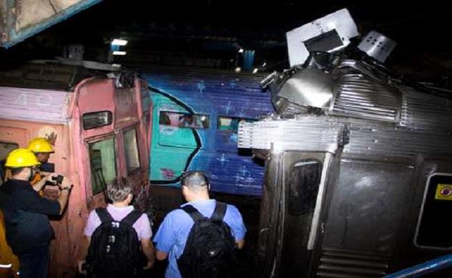Choque de trens deixa mais de 140 pessoas feridas no Rio