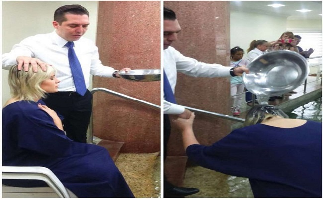 "Andressa Urach é batizada na Igreja Universal: ""nova vida"""