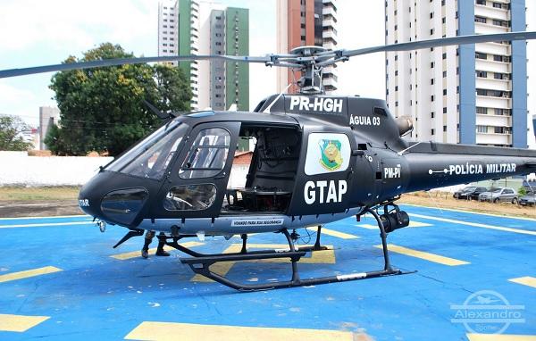 Aeronave que estava em Rondônia está no Piauí