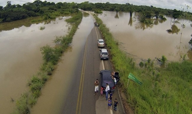 Nível do Rio Madeira continua subindo em Abunã
