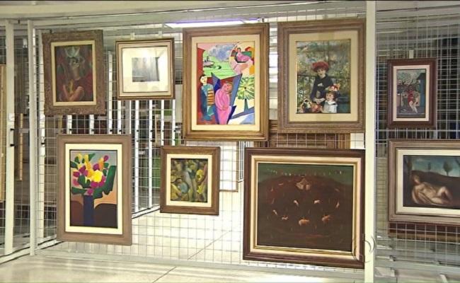 Obras de arte apreendidas na Lava Jato chegam a Curitiba