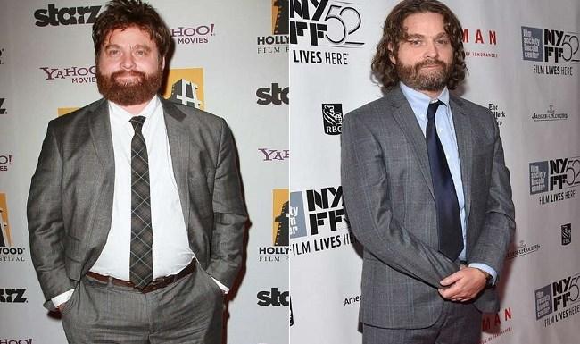 Mais magro, ator de 'Se Beber, Não Case' chama atenção