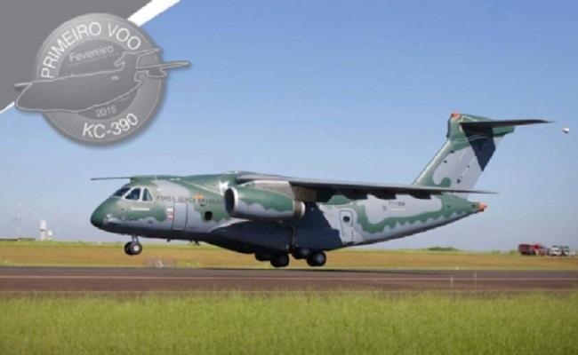 Maior avião desenvolvido no Brasil, KC-390 realiza primeiro voo