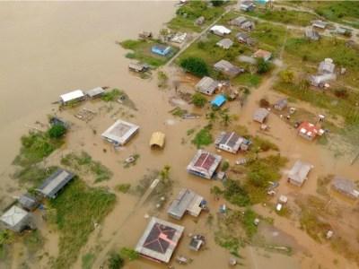 Cheia dos rios deve afetar mais de 100 mil pessoas no Amazonas
