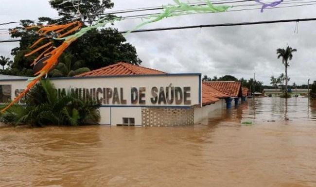 Duas pessoas foram eletrocutados em enchente no ACRE