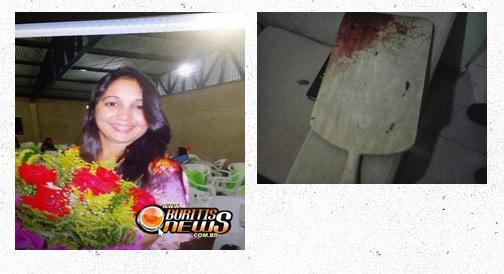 Mulher mata o marido com tábua de cortar carne, em Buritis