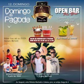Open Bar para Domingo.