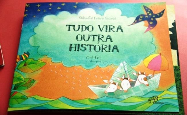 Escritora de literatura infantil divulga trabalhos na Biblioteca Francisco Meireles