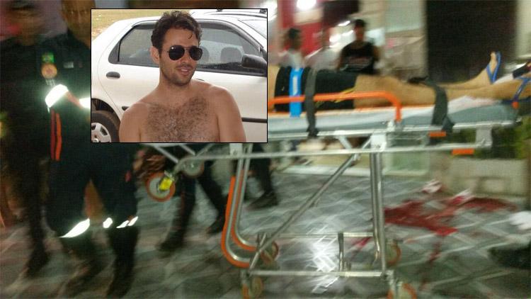 Policial Civil é baleado em pizzaria; foragidos podem ter sido autores