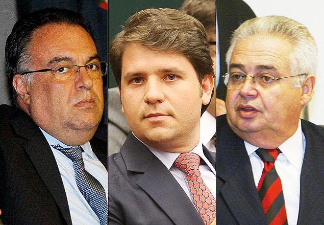 Três ex-deputados são presos na Lava-Jato nesta sexta