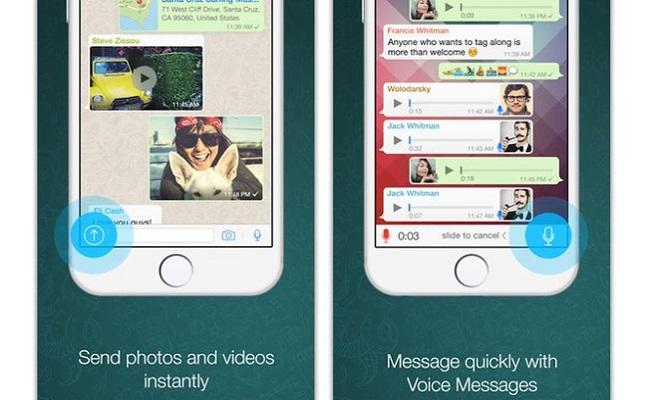 Iphones também já podem fazer chamadas via whatsapp
