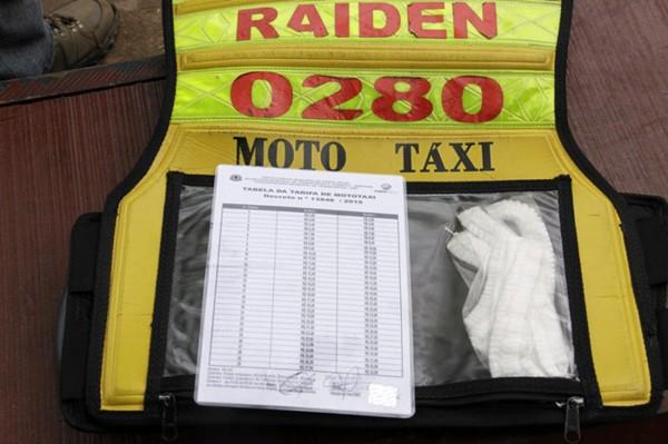 SEMTRAN distribui nova tabela de tarifa de Mototáxi