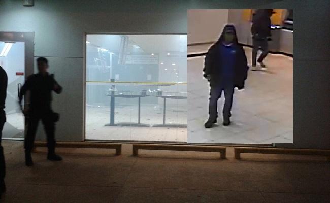 Ladrões tentam roubar agência do Banco do Brasil, em Porto Velho; fotos