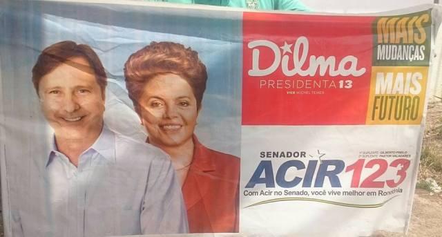 Acir e Dilma, tudo a ver...
