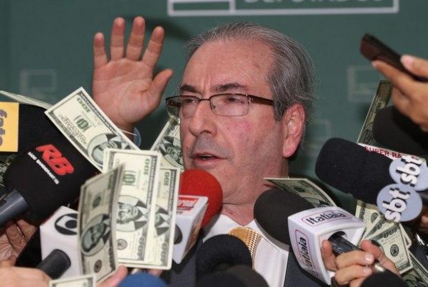 Cunha diz que 'dá de presente' se acharem novas contas no exterior