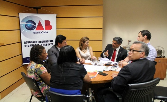OAB/RO se reúne com Abracrim e debate melhorias para a advocacia criminal