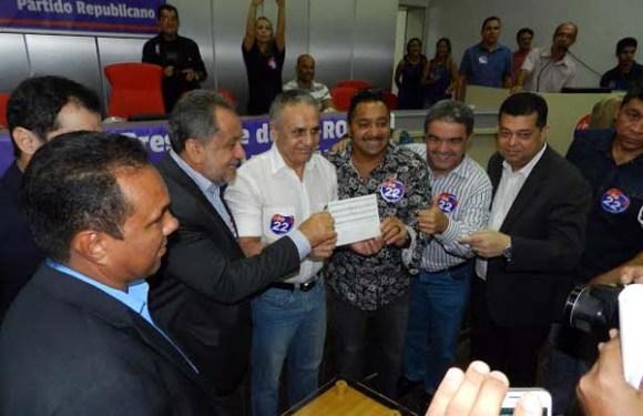 Com Tiririca, Ribamar Araújo filia-se ao PR para disputar Prefeitura de Porto Velho