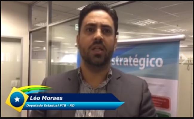 Léo Moraes conquista pauta histórica para aviação de Rondônia