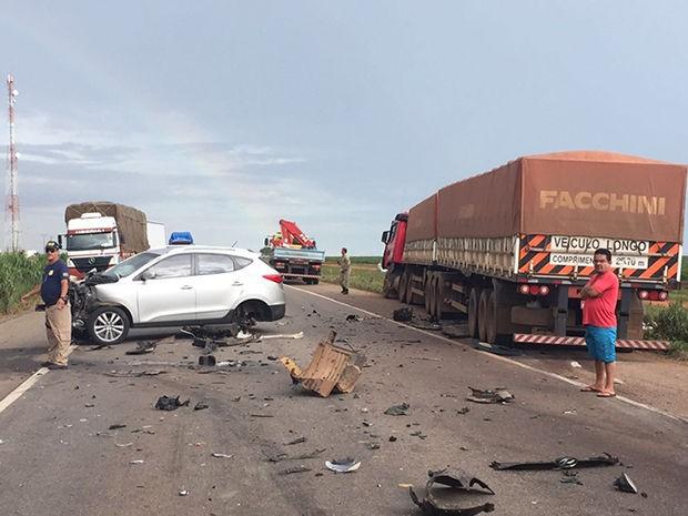 Na BR 364, 'a estrada da morte', 111 pessoas perderam a vida em 2015