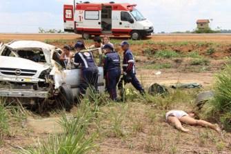 Sete acidentes resultam em três mortes na BR-364 em 24 horas, informa a PRF
