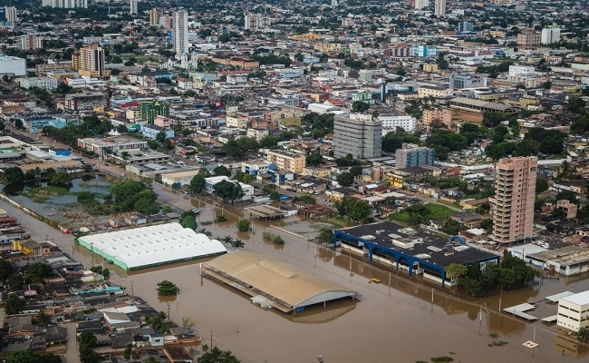 Há dois anos, região central de Porto Velho estava parcialmente submersa; relembre em imagens