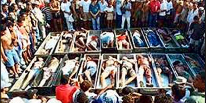 Massacre de 29 garimpeiros leva tribo Cinta-Larga ao banco dos réus em Rondônia