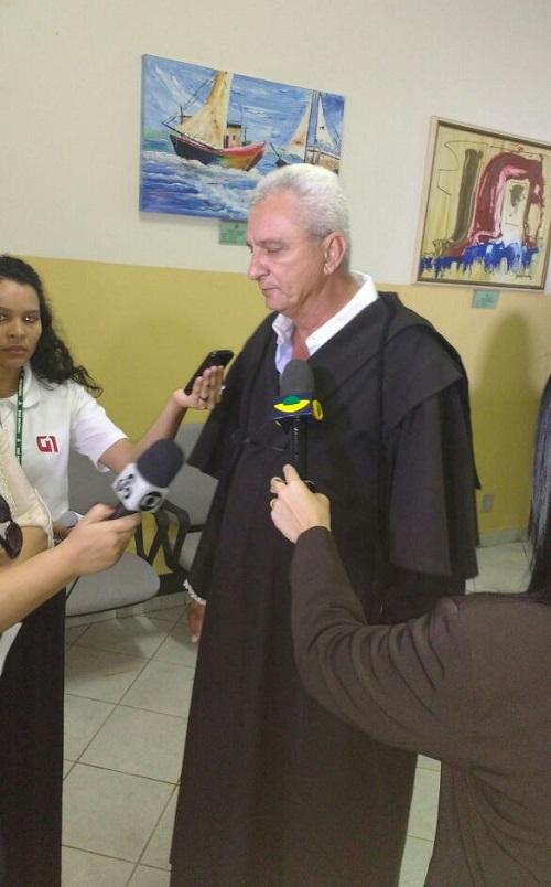 Advogado responsável pela defesa dos acusados