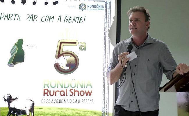 Luizinho Goebel acredita em evolução dos negócios na 5ª Rondônia Rural Show