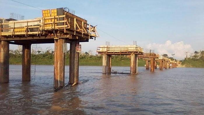 Erro de engenharia paralisa obras da ponte sobre rio Madeira, diz técnico; DNIT nega