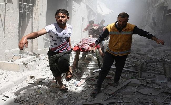 Ataques em Aleppo, na Síria, atingem mesquita e clínica
