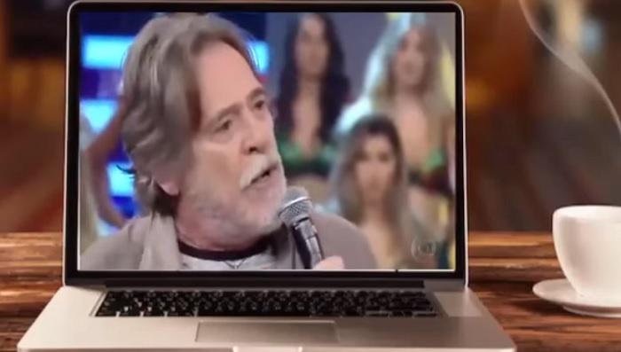 """Faustão dá mais de 30 minutos de seu programa para o """"cuspidor"""" José de Abreu fazer propaganda do PT"""