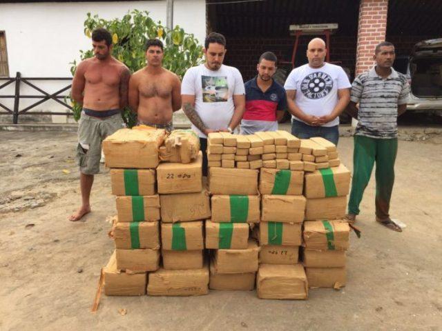A quadrilha de traficantes abastecia Salvador e o interior do Estado