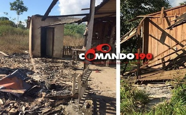Ji-Paraná: Fazenda que foi reintegrada é incendiada e funcionários são espancados