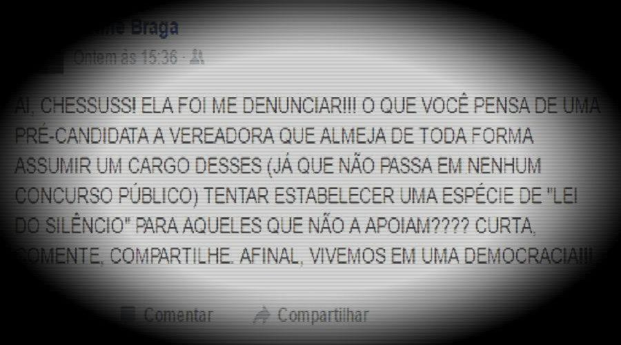 Barraco no Facebook; esposa de deputado registra ocorrência contra sargento da PM