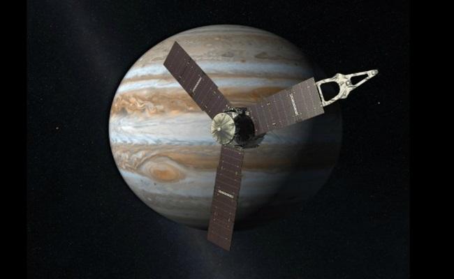 Sonda Juno chega à órbita de Júpiter
