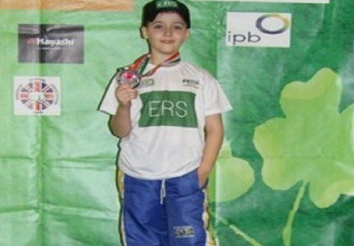 Aos 09 anos, karateca vilhenense conquista medalha de bronze em mundial na Irlanda