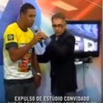 Em Rondônia, apresentador da TV Allamanda/SBT tenta obrigar entrevistado a falar mal de senador
