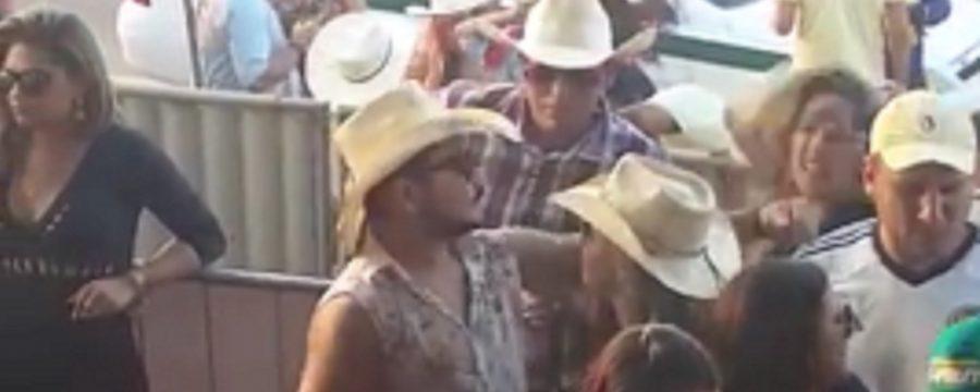 """Sertanejo dá tapa na cara de mulher e diz que """"não foi nada demais""""; vídeo"""