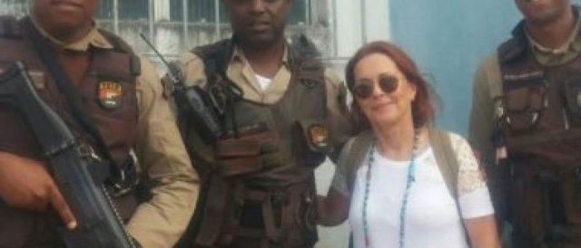 Maria Zilda Bethlem teve o carro roubado na Bahia