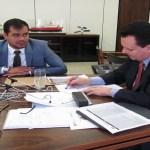 Expedito Netto pede apoio de Kassab aos candidatos de Rondônia
