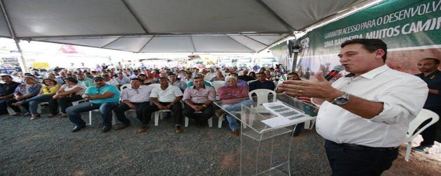 Maurão participa de inauguração de usina de asfalto a quente em Rolim de Moura