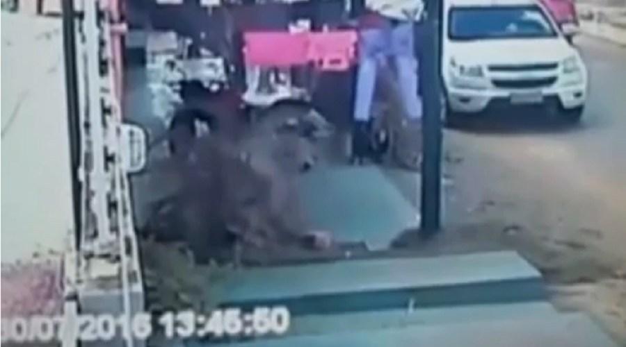 Vereador de Boa Vista bate em dona de casa; assista