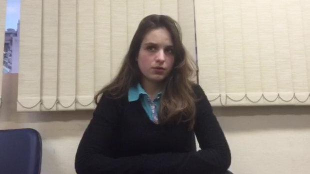 A estudante de jornalismo Patricia Lelis, acusa Marco Feliciano de assédio sexual