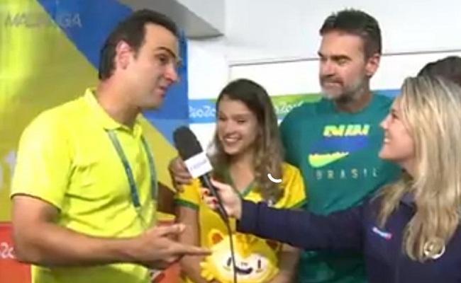 Sobrinho do apresentador Tadeu Schimdt ganha medalha de ouro no vôlei de praia